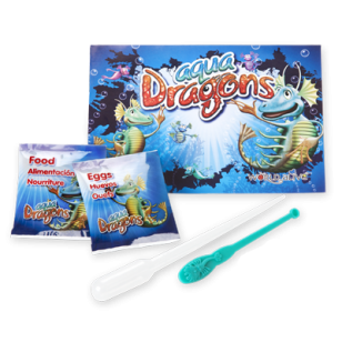 Aqua Dragons Refill Set - Eggs &Food